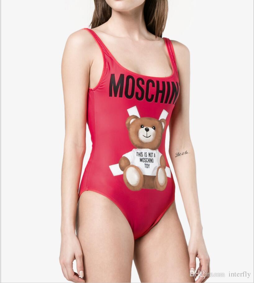 a6893ba71c 2019 Sexy One Piece Swimsuit Women Designer Swimwear Trikini Bathing Suits  Push Up Monokini Padded Swimming Suit For Women Halter Beachwear From ...