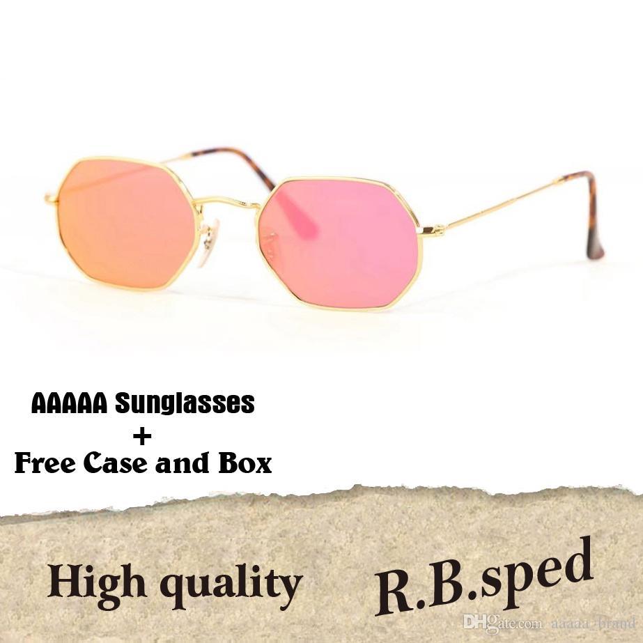 ee33b6e98c New Arrival Classic Octagonal Sun Glasses Brand Designer Fashion Sunglasses  Men Women Mirror Uv Glass Lens With Cases And Box Serengeti Sunglasses Sun  ...