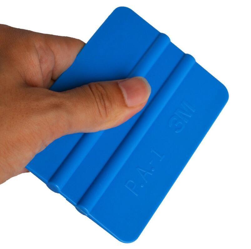 3M Plastic Felt Edge Squeegee Car Vinyl Wrap Application Tool Scraper Decal 2pcs