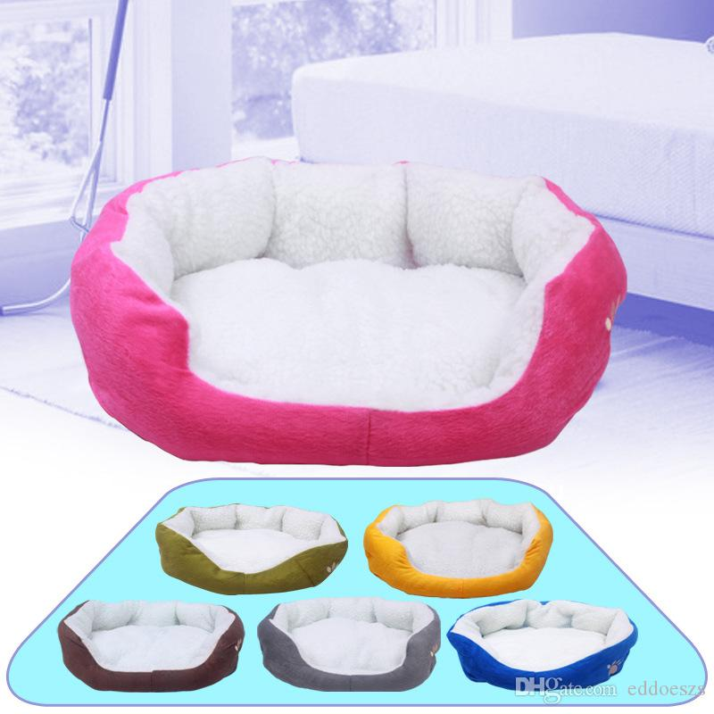 New Pets Products Cotton Pet Dog Bed for Cats Dogs Small Animals Bed House Pet Beds Cushion High Quality Cheap Free Shipping