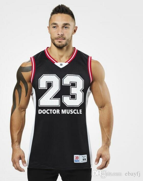 a3099513f0f72 2019 100% Cotton Gym Men Tank Top Vest T Shirt Sport UFC MMA Men  Bodybuilding Men Racerback Tank Top Stringer Workout Gym Singlet Y Back  Muscle From Ebayfj