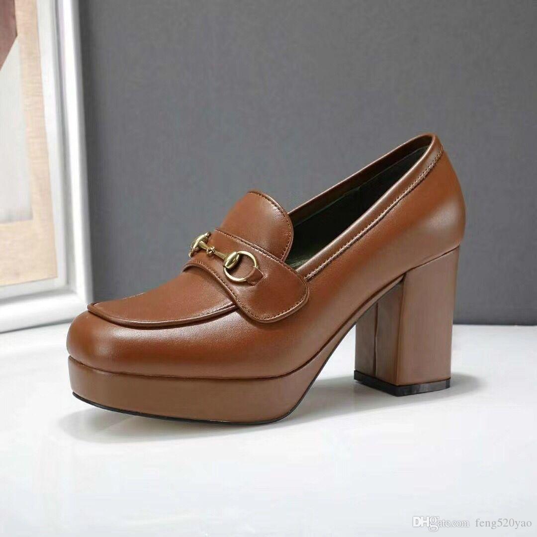 progettista della pelle bovina tacchi alti Sexy Bar banchetto di nozze con tacco scarpe da barca Super alto scarpe tacco donna metallo di lusso in pelle Abito scarpe 41
