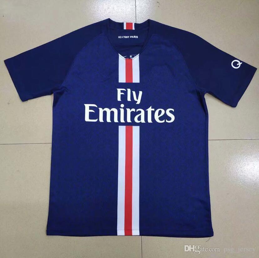 8659ed71b7efc Compre Novo TOP 19 20 Tailândia PSG MBAPPE Camisa De Futebol Camisa De  Futebol Kit CAVANI VERRATTI PSG Camisa De Futebol Jersey KIMPEMBE Camiseta  De Futb De ...