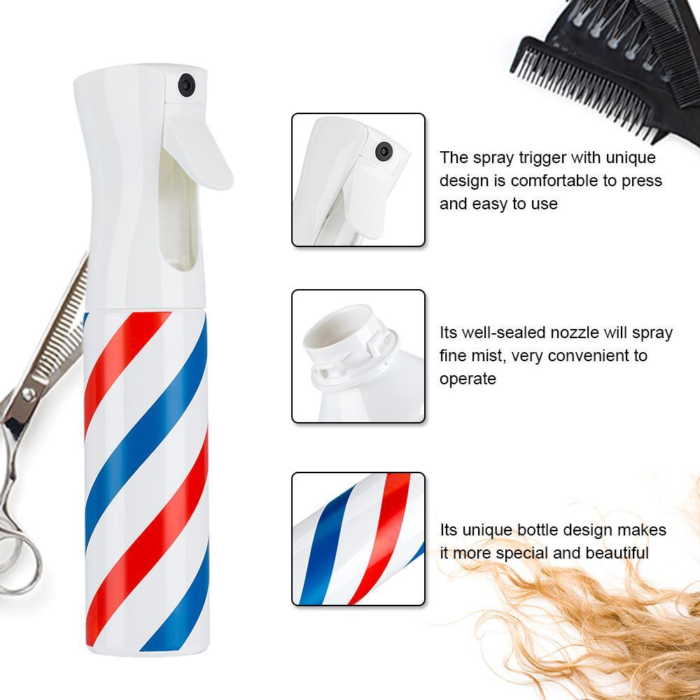 20pcs Spray Bottle Salon Barber Hair Tools Ultra Fine Water Mist Continuous Trigger Empty Sprayer Spray Bottle