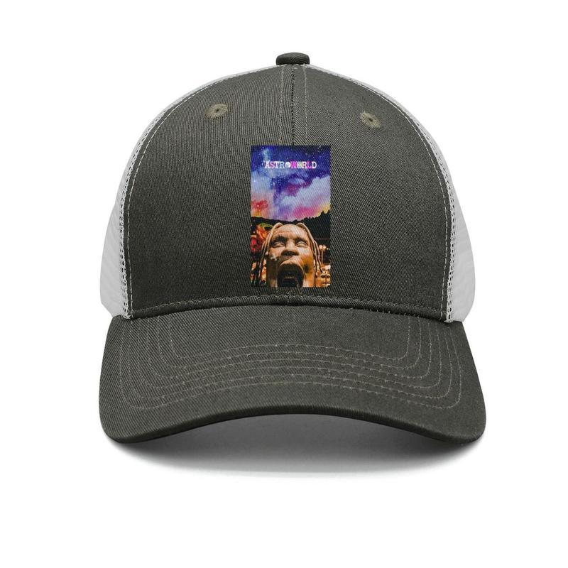 design de qualité f084d b8f00 Travis Scott Astroworld Album army-green pour hommes et femmes casquettes  de camionneur casquettes de baseball personnalisées