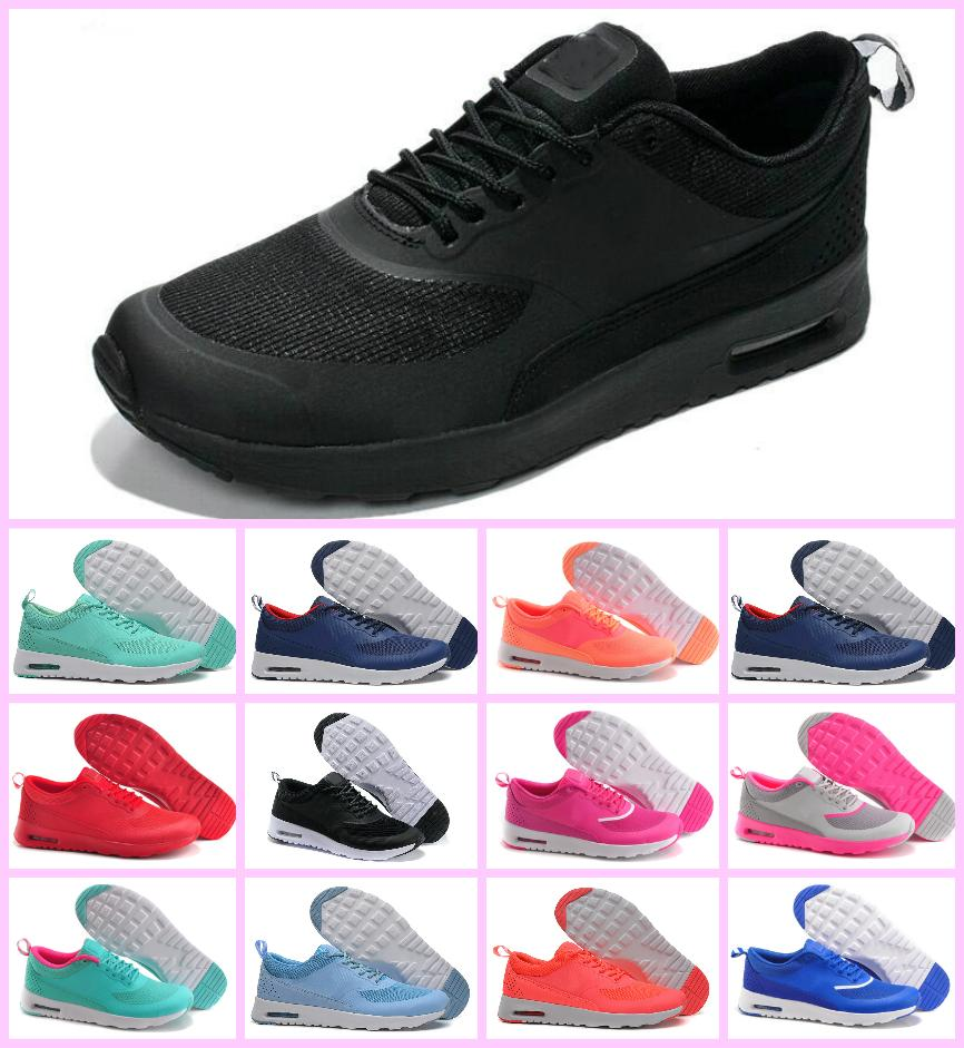 timeless design d1b51 f0008 2019 2018 Fashion Air Cushion Thea 87 90 Running Shoes For Men S Women  Outdoor Sports Sneakers Mans Lightweight Athletic Shoes Size Eur 36 45 From  Naikexie, ...