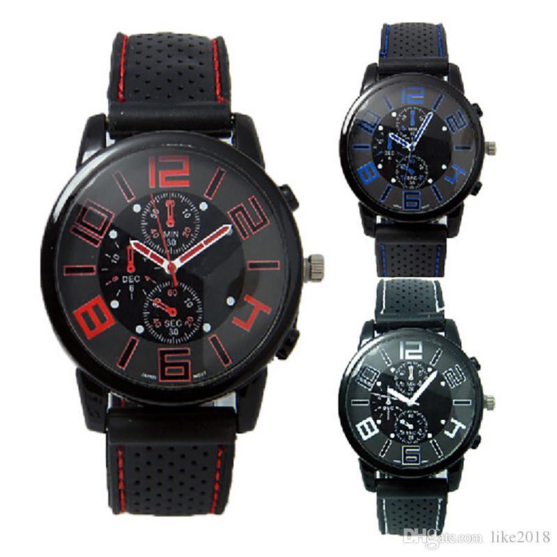 8fad4281f3b4 Comprar Relojes Baratos Nuevo Reloj De Pulsera De Lujo Para Hombre Reloj De  Cuarzo Deportivo De Acero Inoxidable De Cuarzo Informal Reloj Fresco Relojes  ...