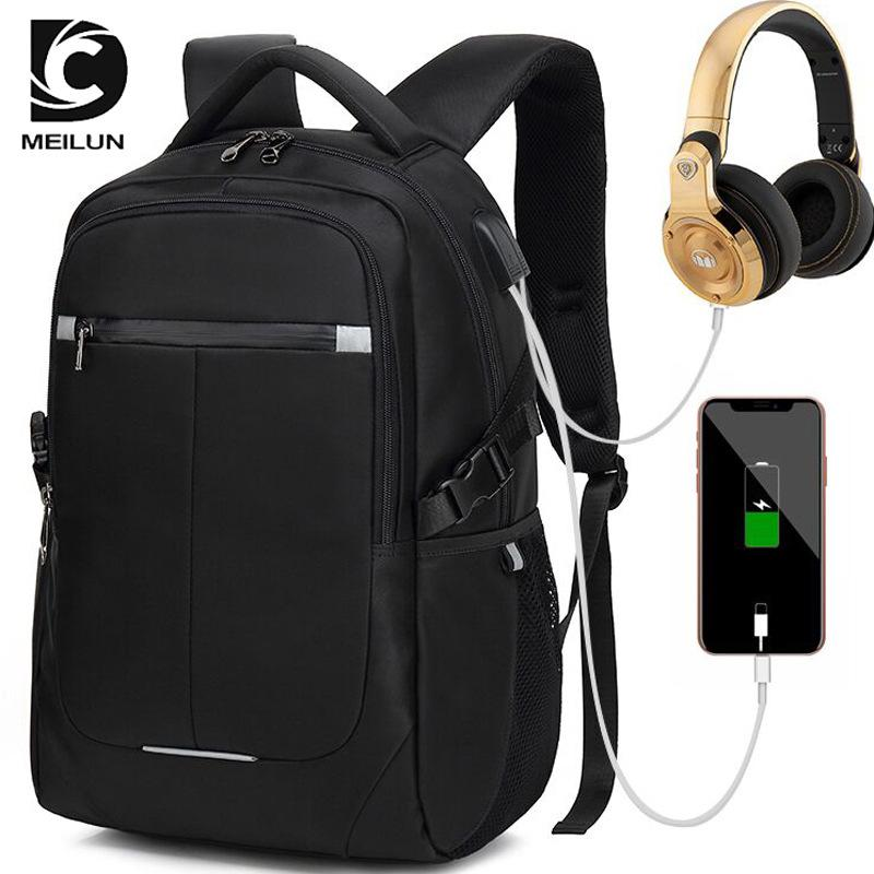 2018 New Multifunction Men s Backpack 15 Inch USB Charge Computer ... f272270f4e4b3