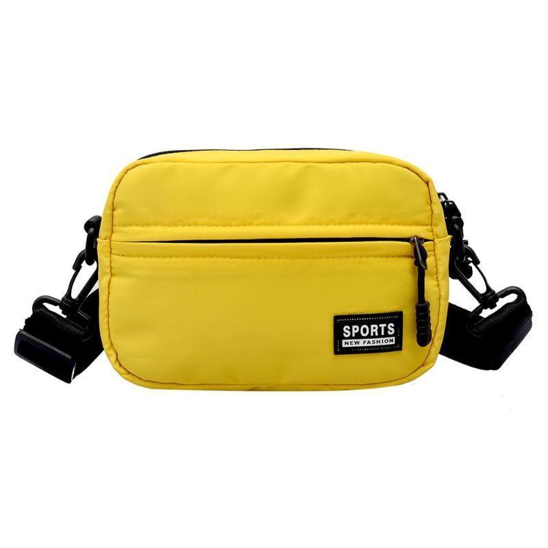 Designer Fashion Men Women Messenger Bags Unisex Boys Girls Nylon Zipper Shoulder  Bags Small Handbags Casual Mini Crossbody Bag Luxury Handbags Leather ... 0d46ecf8a939a