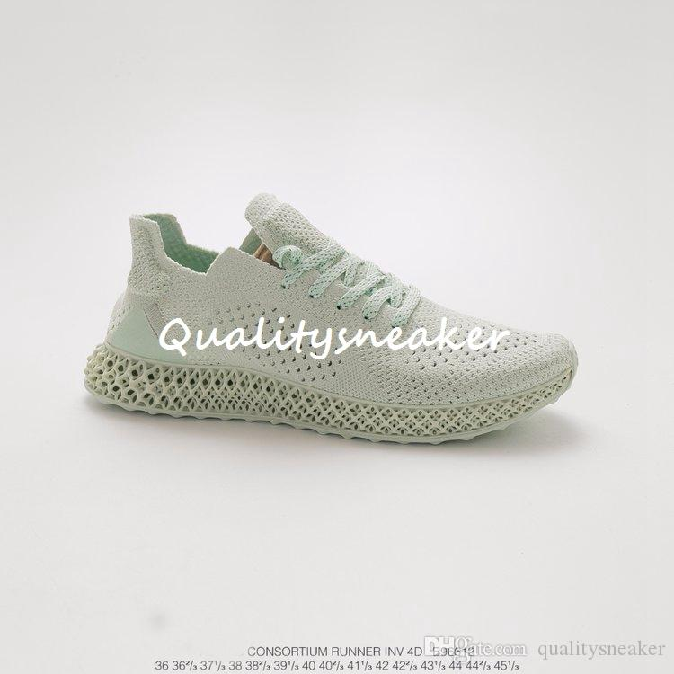 new style f0716 753d3 High Quality Mens Daniel Arsham Futurecraft Runner 4D Running Shoes for Men  s Jogging Shoe Men Trainers Male Sneakers Man Sneaker