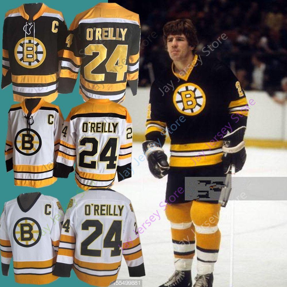 b1f09e989 Terry O Reilly Jersey O Reilly OReilly Ice Hockey Boston Bruins Jerseys  Black White Home Away CCM Vintage UK 2019 From Jayjerseystore