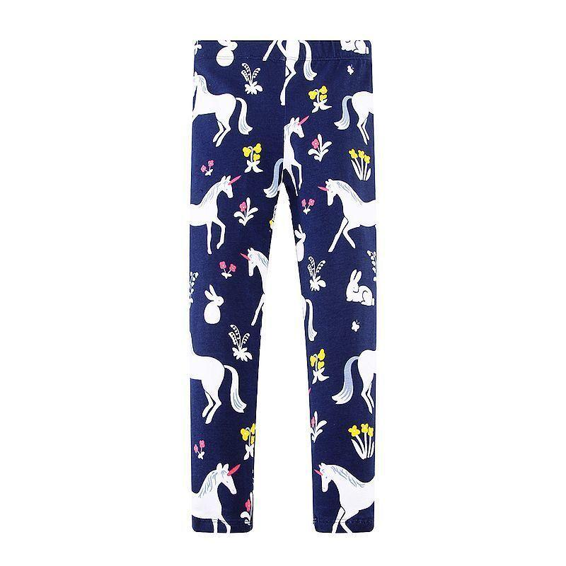 c64776942c3a5 Baby Leggings For Girls Pants Mermaid Flamingo Animal Print Girls Leggings  Children Trousers 2019 Kids Cotton Leggings Fille Casual Cargo Pants Winter  Suits ...