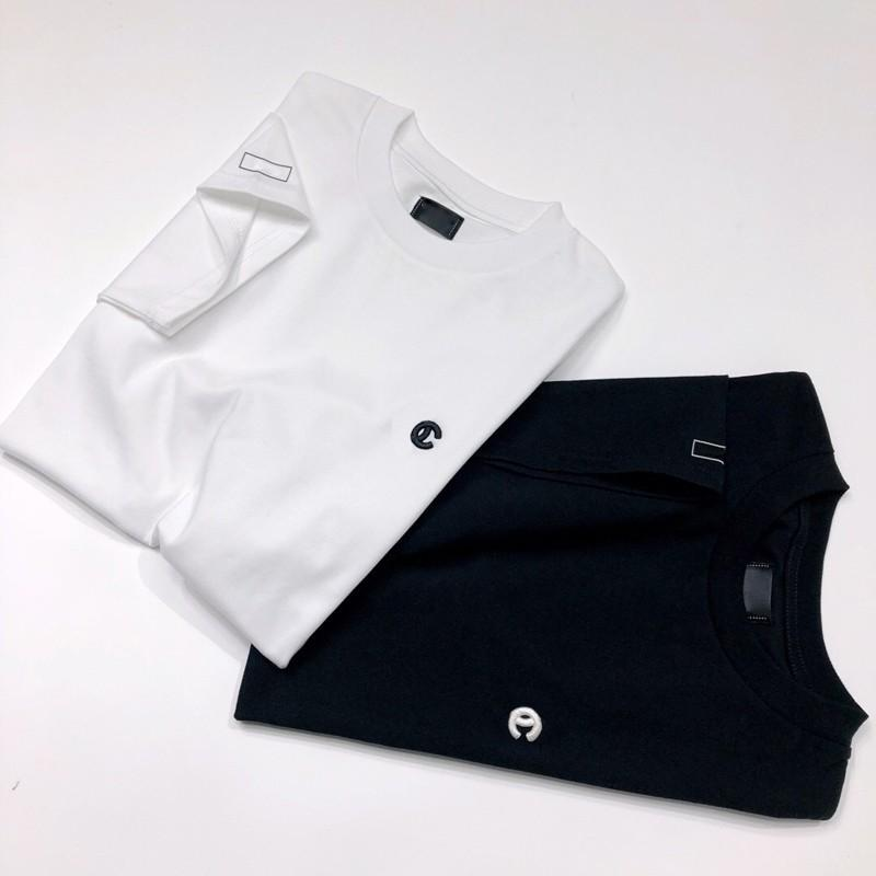 a8313c752cfa 18FW Top Version French Luxury Brand T-shirt Classic Logo Fashion ...
