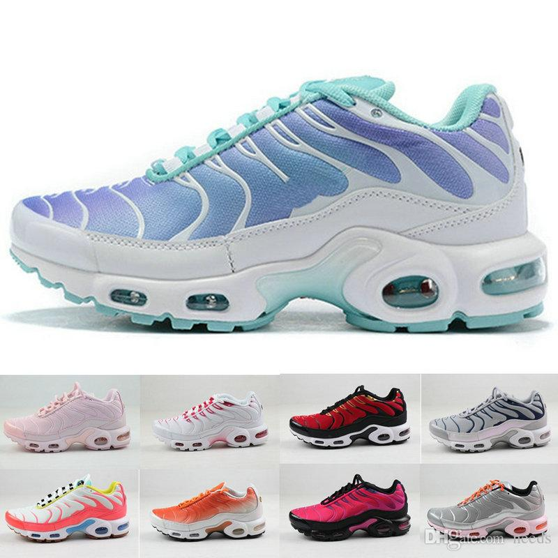 2020 New Womens Designer Shoes tn Femme White black pink tns ultra Chaussures plus Sneakers Breathable Running Trainers for women size 36-40