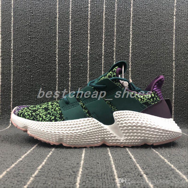 separation shoes 66547 5dcd5 Calidad Superior Dragon Ball Z X Prophere Cell Eqt Zapatos Corrientes Para  Hombre Para La Venta Verde Púrpura Blanco Para Mujer Zapatillas De Deporte  Tamaño ...