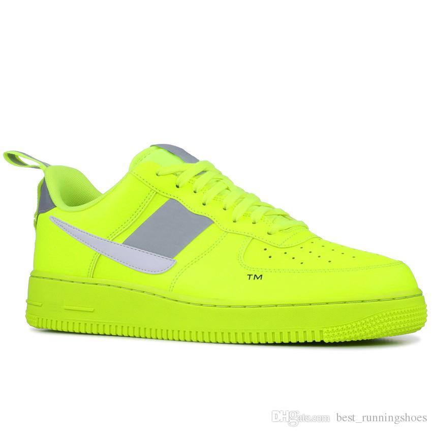 innovative design 1941c c541c 2019 X Force 1 Low One Designer Zapatos Para Correr Off Volt Forzado Blanco  Aire Verde Solo Hazlo Naranja Fuerzas Hombres Deportes Skate Designer  Zapatillas ...