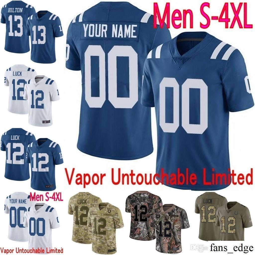 b7693e986 2018 Custom Men Youth Women Indianapolis Colts Darius Leonard Andrew Luck  T.Y. Hilton 18 Peyton Manning Camo Realtree Elite Limited Jersey 02 From  Fans_edge ...