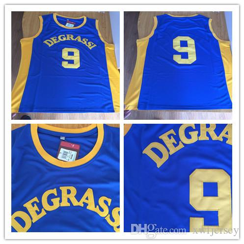 d225e1af4f79 2019 Degrassi Community 9 Jimmy Brooks Jersey Men S High School Team ...