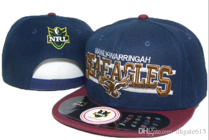 a35369cd0 2019 NRL Manly Warringah sea hat Eagles hat Snapback Hip-Hop Snapbacks  Adult Baseball Adjustable Caps Embroidery hats Free Shipping 03