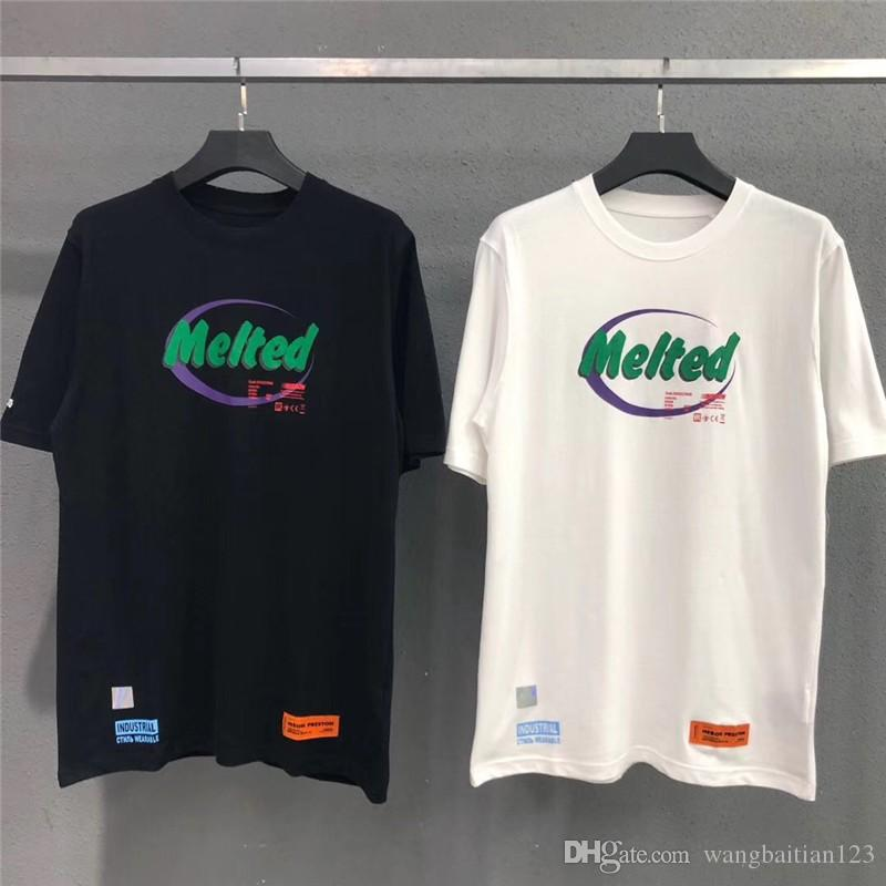 New Heron Preston T Shirts Women Men melted industrial wearable Crane Heron Preston T Shirt Best Quality Heron Preston Top Tees
