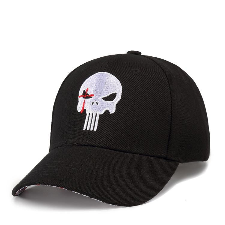 Punisher Skull Cap Hat Hip-hop Adjusted Strapback Chris Kyle Cap American Sniper Navy Seal Free Shipping Wholesale