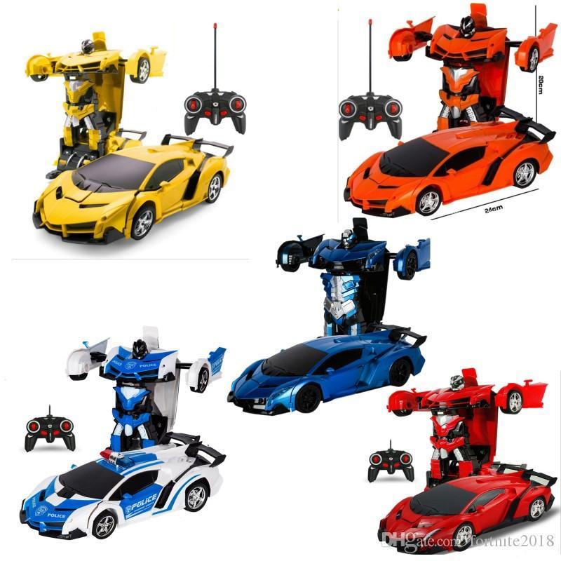 Sports Transformation Modèles Car Enfants Voiture D Déformation De Combat Anniversaire Jouet Cadeaux Pour Télécommande Rc Robots 2IH9DYWE