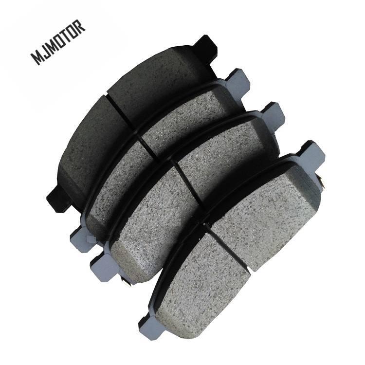 Car Brake Pads >> 4pc Set Front Rear Brake Pads Set Kit Fr Rr Disc Brake For Japan Mitsubishi Pajero Orv Auto Car Motor Part 4605a783 4605b026