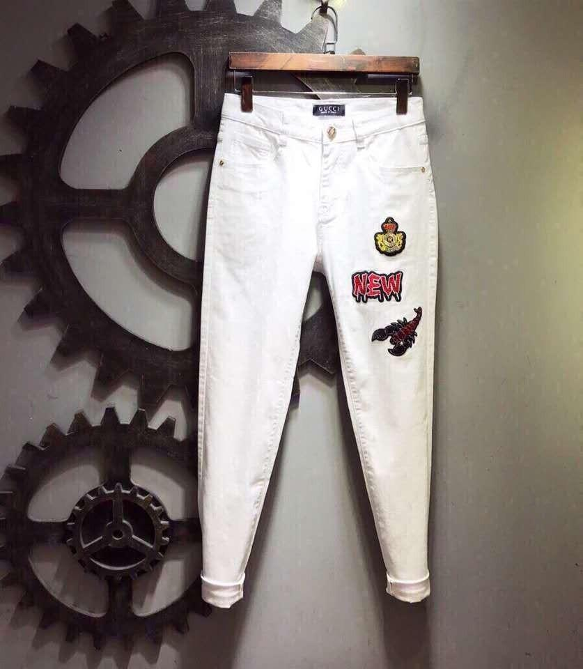 65954cd4d6788 2019 2018 New Men S Autumn And Winter Trend Slim Feet Stretch Jeans Pants  Yard Number 562 01 From Dunhang07