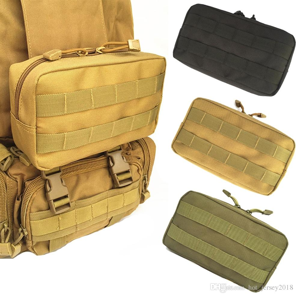 Fine Jewelry Compact Water-resistant Multi-purpose Edc Utility Gadget Gear Hanging Waist Bag Pouch Just Molle Pouches