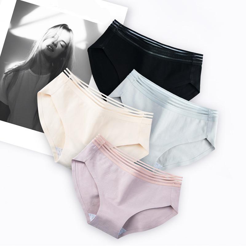 Compre Marca Roupa Interior Sexy Calcinha De Renda Das Senhoras Sem Costura  Cintura Oco Confortável Sexy Macio Feminino Cuecas Senhora Fina Lingerie De  ... 9558bc9beca