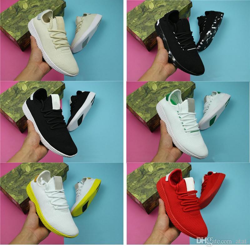 6b3ba485ba54c Pharrell Williams X Stan Smith Running Shoes For Men Women Tennis HU  Primeknit Sneaker Breathable Runner Sports Shoes Size 36-45 Shoe Sneaker  Man Sneaker ...