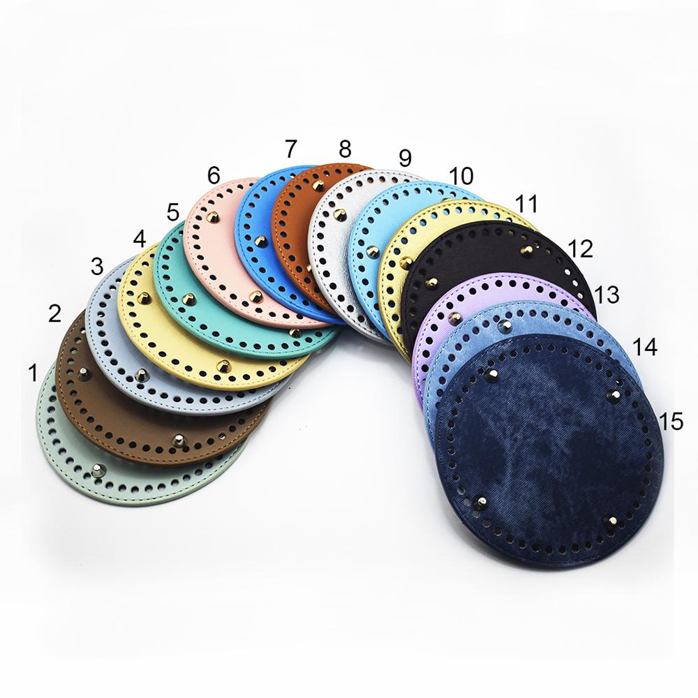 25f32f6f62 Bags Accessories Leather Bag Round Bottom DIY Replacement Bottoms ...
