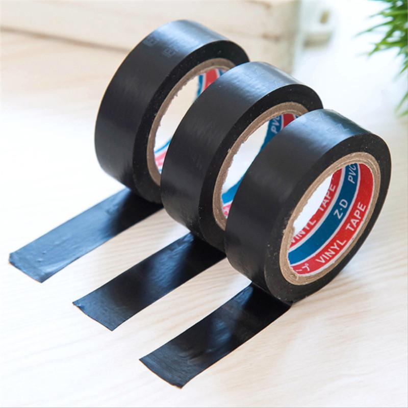 Black Transformer Electric Wire Insulation Self Adhesive Tape Flame Retardant Plastic Tape Electrical PVC Waterproof Duct Tape