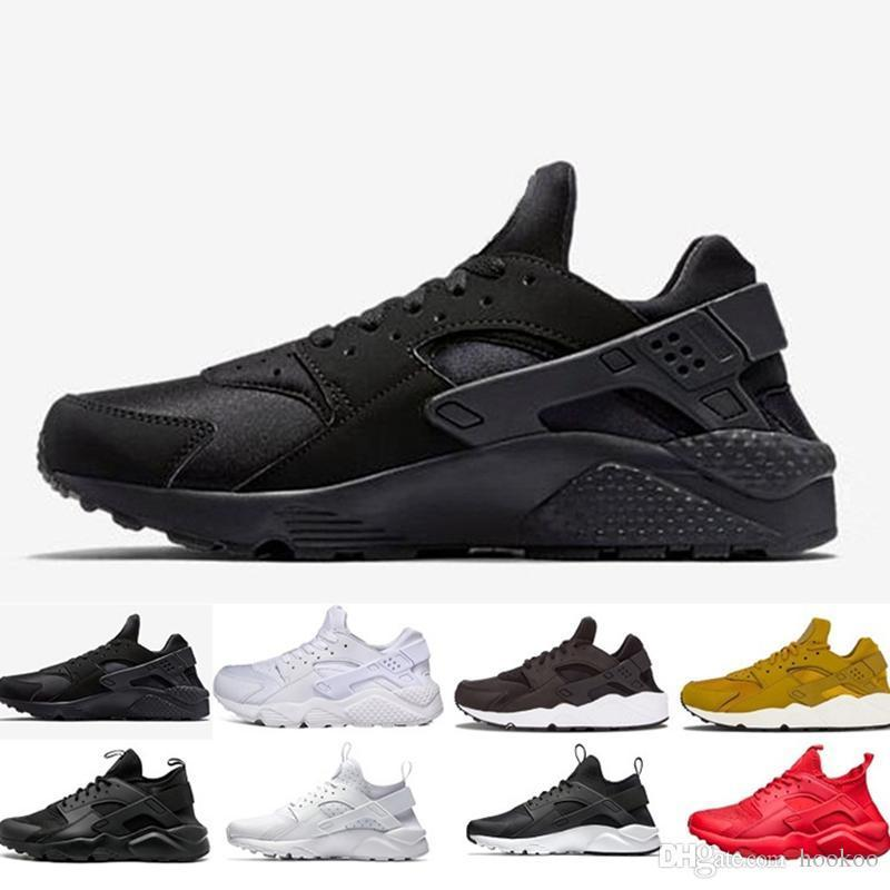 ... buying new 2018 Huarache 1.0 Triple White Black Red Huraches 4.0 IV  Gold Grey Trainers Men ... e10caa96e7