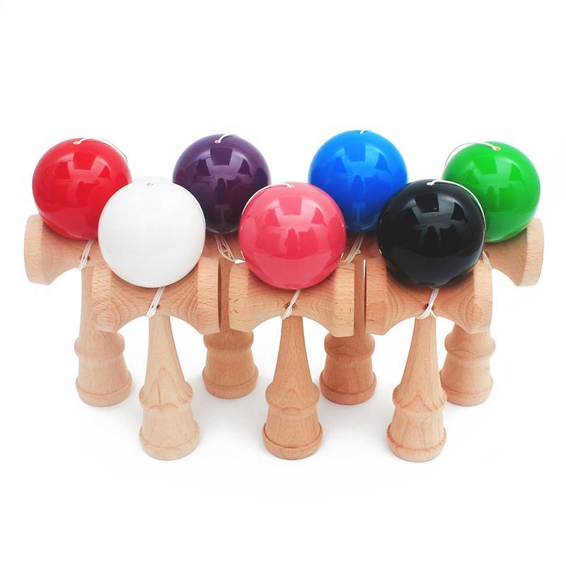 Toys 18 Aire Al Pu 5 Deportes Kendama Ball Cuerdas Libre Pintura Cm Juguetes Deportivos Profesionales De Madera Juguete Adultos qpGLSUMjzV