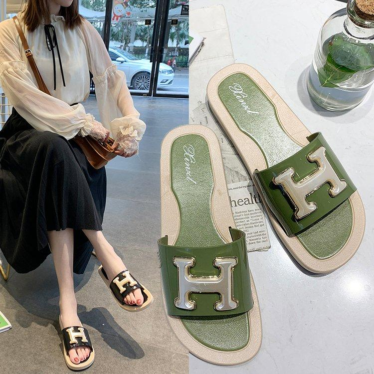 82f9765c236a Summer Sandals Beach Flip Flops Women Shoes Slipper Footwear Slides ...