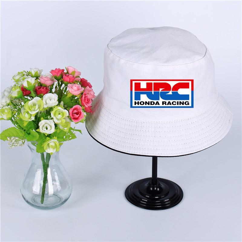 2019 HRC Honda Racing Car Logo Hat Women Mens Panama Bucket Hat HRC Honda  Racing Car Design Flat Sun Visor Fishing Fisherman Hat From Menceng1986 d4bf7a2e7d6