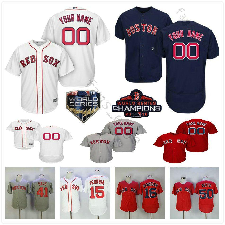 e40670e06 2019 Custom Boston  28 J.D. Martinez 19 Jackie Bradley Jr. 42 Jackie  Robinson 50 Mookie Betts Men Women Kids Youth Red Sox Baseball Jerseys From  James shop