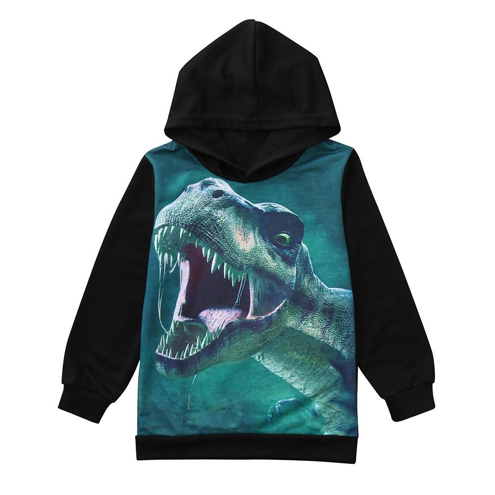 ebf77f127 2019 Girls And Boys Sweaters Long Sleeves Dinosaur Winter Kids Sweaters And  Pullover Casual Kids Cardigan Tops Sweater Clothes 1D11 From Cornemiu, ...