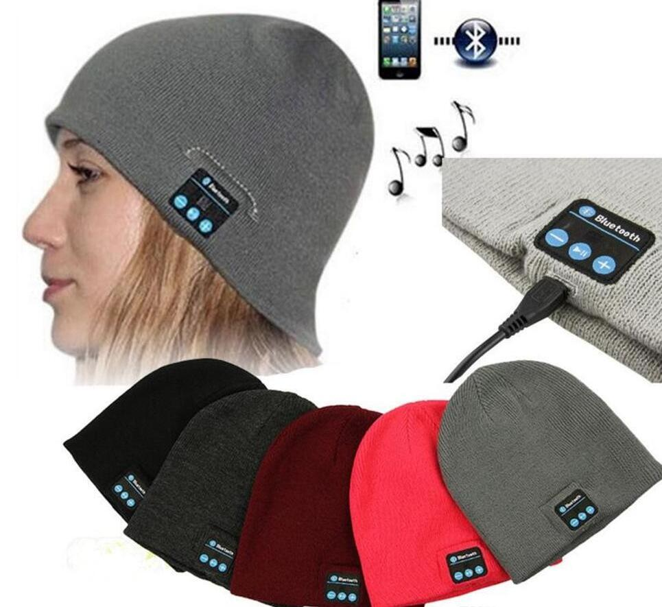 daf18d3955f Bluetooth Music Beanie Hat Wireless Smart Cap Headset Headphone Speaker  Microphone Handsfree Music Hat OPP Bag Package OOA2979 Hats Bucket Hats  From ...
