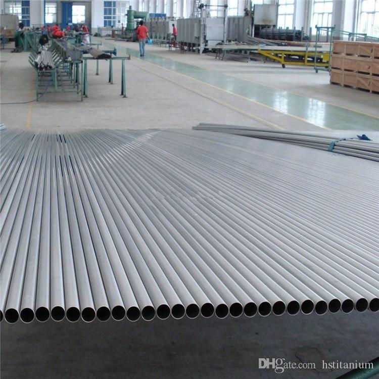 Gr2 benelli m4 titanium exhaust pipe Titanium Seamless Tube/Pipe Titanium  Price Per Kg hot sale from china