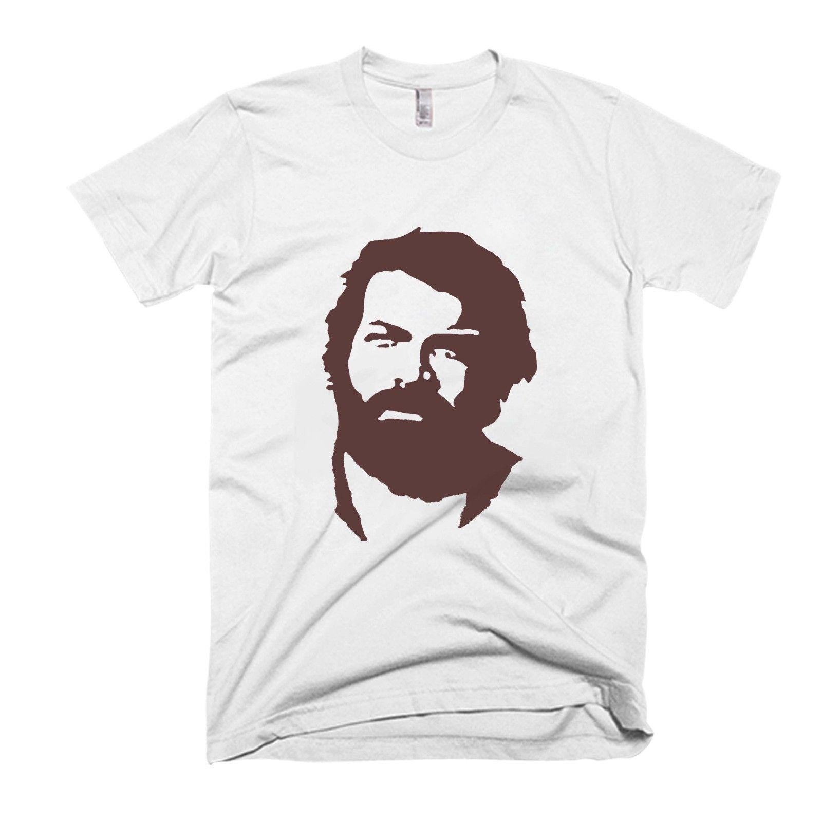 Bud Spencer Legend Heroes Men S   Women S T Shirt Wholesale Basic Models  Tee Summer Hot Sale O Neck Fashion Printed Online T Shirt Printing On T  Shirts From ... 43c35cc233