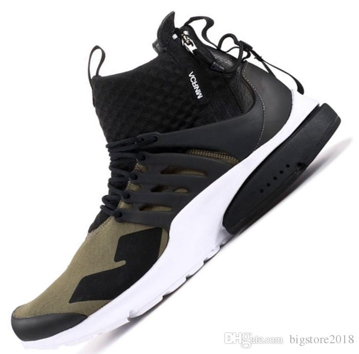 c1945eb3e6312 2019 Presto X Mid Acronym Running Shoes Mens Women Trainers Comfortable  Breathable Prestos Sports Designer Luxury Sneakers AIR Chausseures Best  Running ...