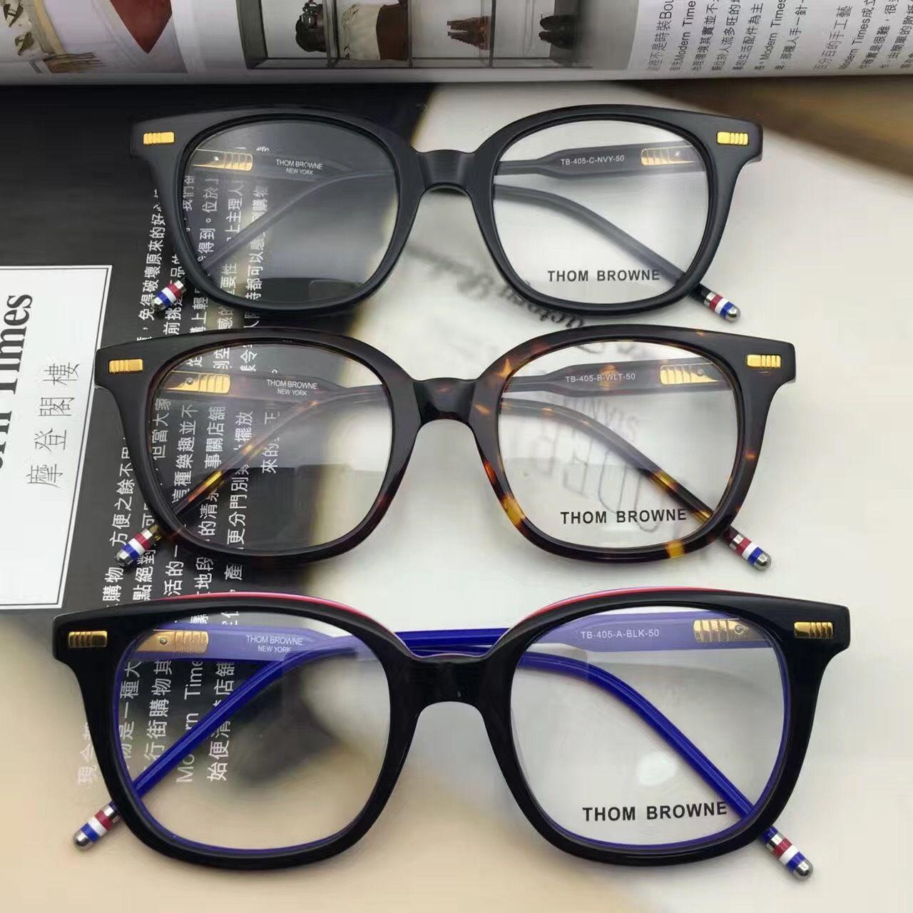 2d62db16ab9 Luxury-Brand TB-405 Round Vintage Myopia Computer Optical Glasses ...
