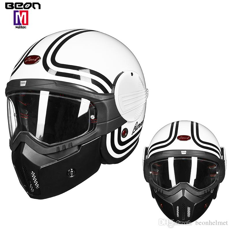 Motorcycle Accessories & Parts Lower Price with Beon Motorcycle Helmet Men Woman Full Face Helmet Moto Riding Motocross Helmet Motorbike Casco Moto