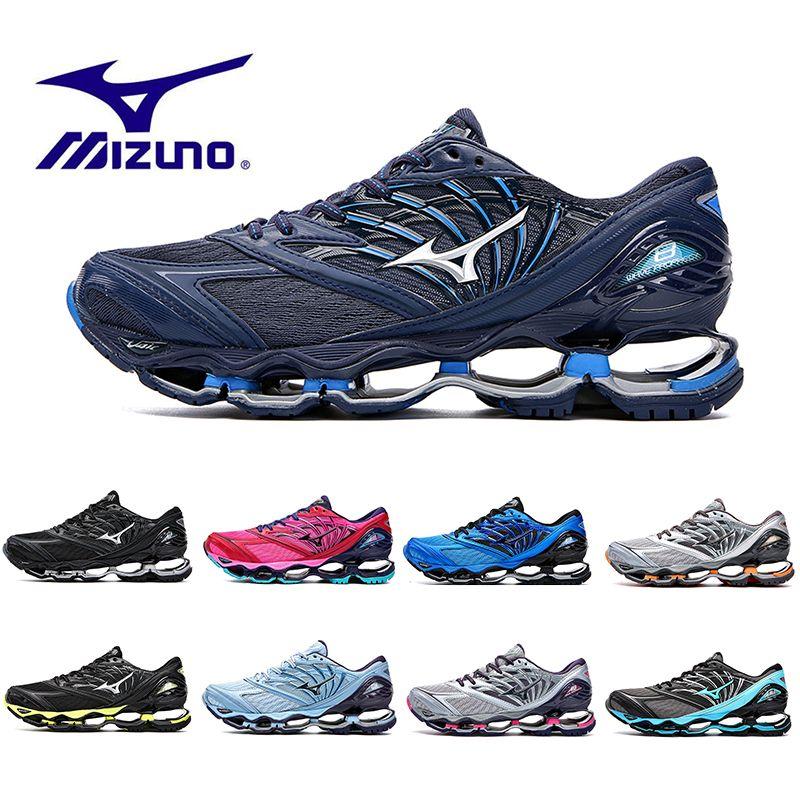 New Arrival Mizuno Wave Prophecy 8 Running Shoes Buffer Fashion Men S Women  Originals Top Quality Mizunos Designer Sport Sneakers Shoe 36 45  Lightweight ... 33ed6effc838b