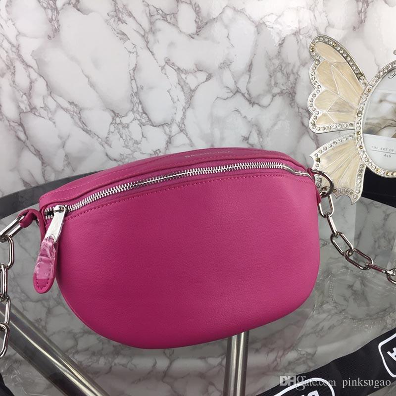 479b0022bad0 Pink sugao designer luxury women waist bags 2019 new fashion waist bag  genuine leather top quality bags plain hot sales 4 colors whosales