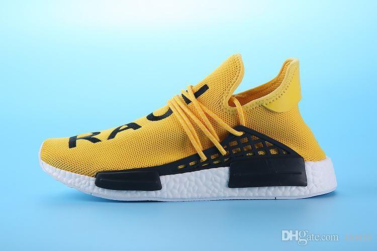 da399a018abbb 2019 2018 Cheap Wholesale NMD HUMAN RACE Pharrell Williams 2016 Men S    Women S Cheap Fashion Sport Shoes Free Ship With Box From Factory sneaker