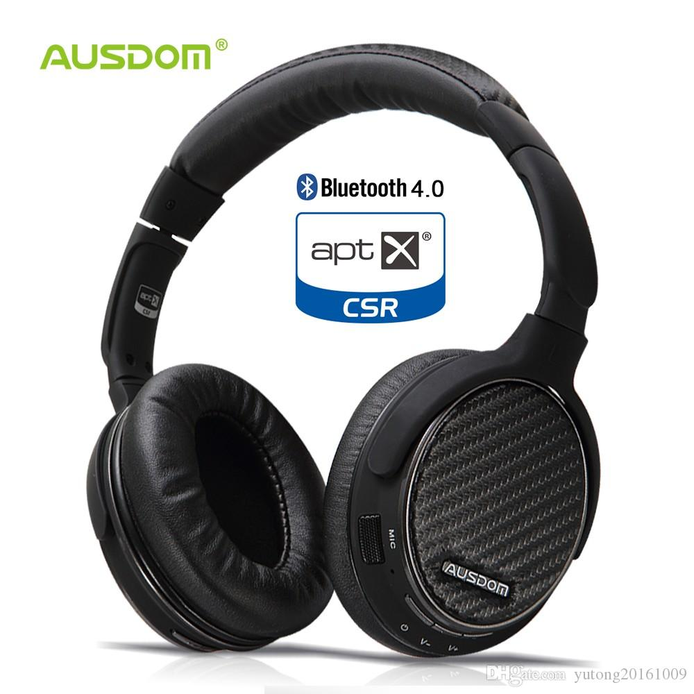 b139c80ceeb Ausdom M05 AptX Wireless Bluetooth Headphones Over Ear Deep Bass Stereo  Headset Sport Headphone With Mic HiFi CD Like Sound Head Phones Headphone  Amp From ...