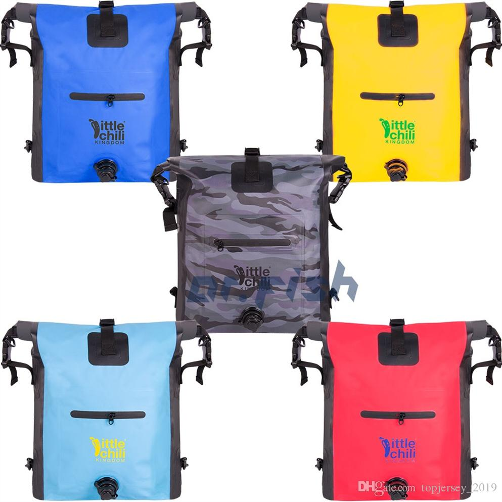 a56cfdc220 2019 25L PVP Dry Bag Waterproof Backpack Portable For Women Boy Floating  Boating Kayaking Rafting Diving Surfing Swimming Camping  28495 From  Topjersey 2019 ...